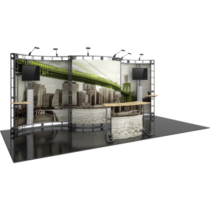 Apex Orbital Express Truss 20ft Modular Exhibit